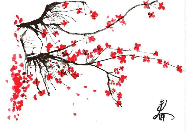 Раскраска сакуры