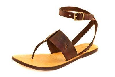 Handmade Leather Women Sandal by cbajo on Etsy, $70.00