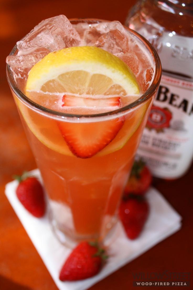 Kentucky Buck - Bourbon infused with fresh strawberries, lemon juice ...