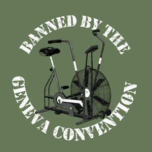 airdyne banned by the geneva convention