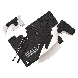 credit card knife with logo