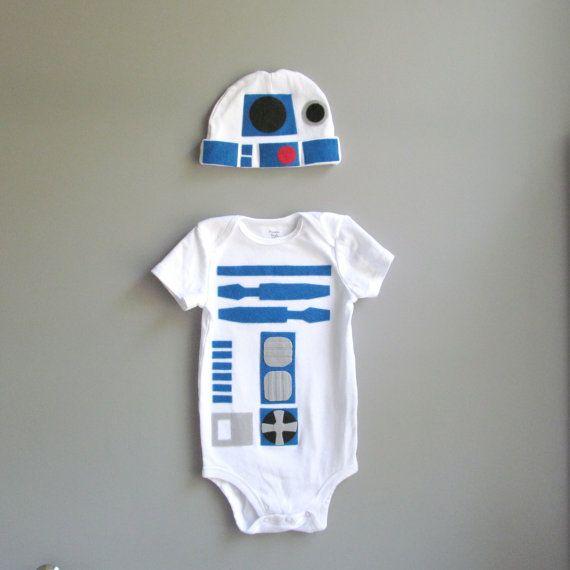 R2D2 baby halloween costume