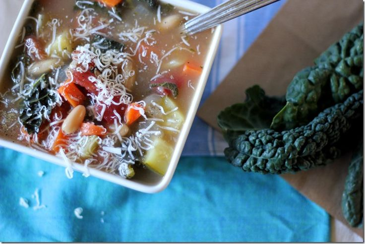 Tuscan Kale and Cannellini Soup_LYK1 | CHILI AND SOUPS AND STEWS | Pi ...