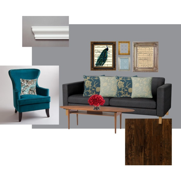 Blue Gray Color Scheme For Living Room Image Review