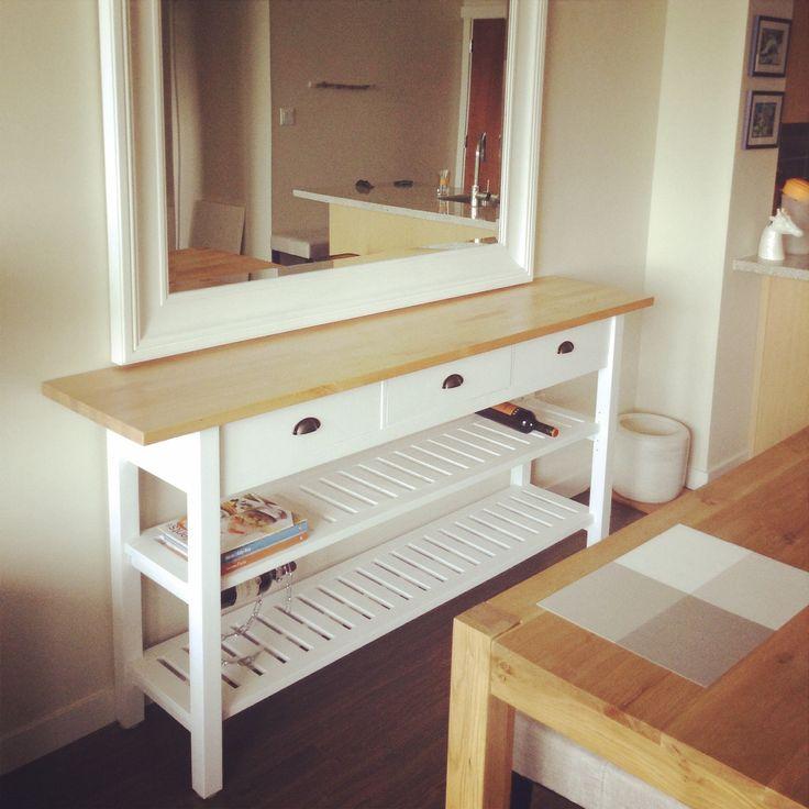 ikea norden folding table hack. Black Bedroom Furniture Sets. Home Design Ideas