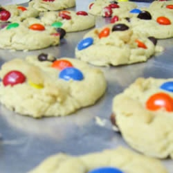 Robbi's M & M cookies... Delicious! | food | Pinterest