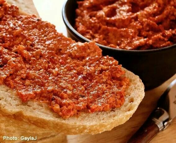 Roasted Red Pepper Spread | Recipes♡♡♡♡ | Pinterest