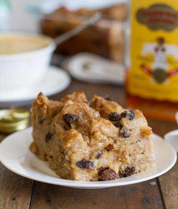 Bread Pudding with Hot Butter Rum Sauce — Pinch of Yum