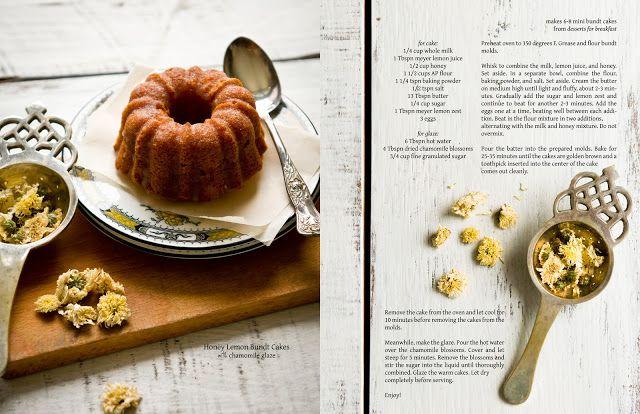 Honey-Meyer Lemon Pound Cake with Chamomile Glaze Desserts for ...
