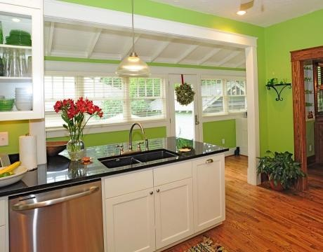Idea for expanding our kitchen house stuffs pinterest for Expanding a galley kitchen