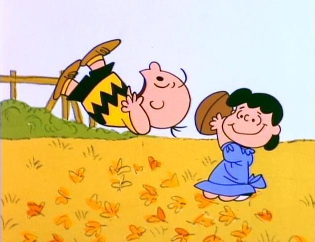 Poor Charlie Brown!  :o)