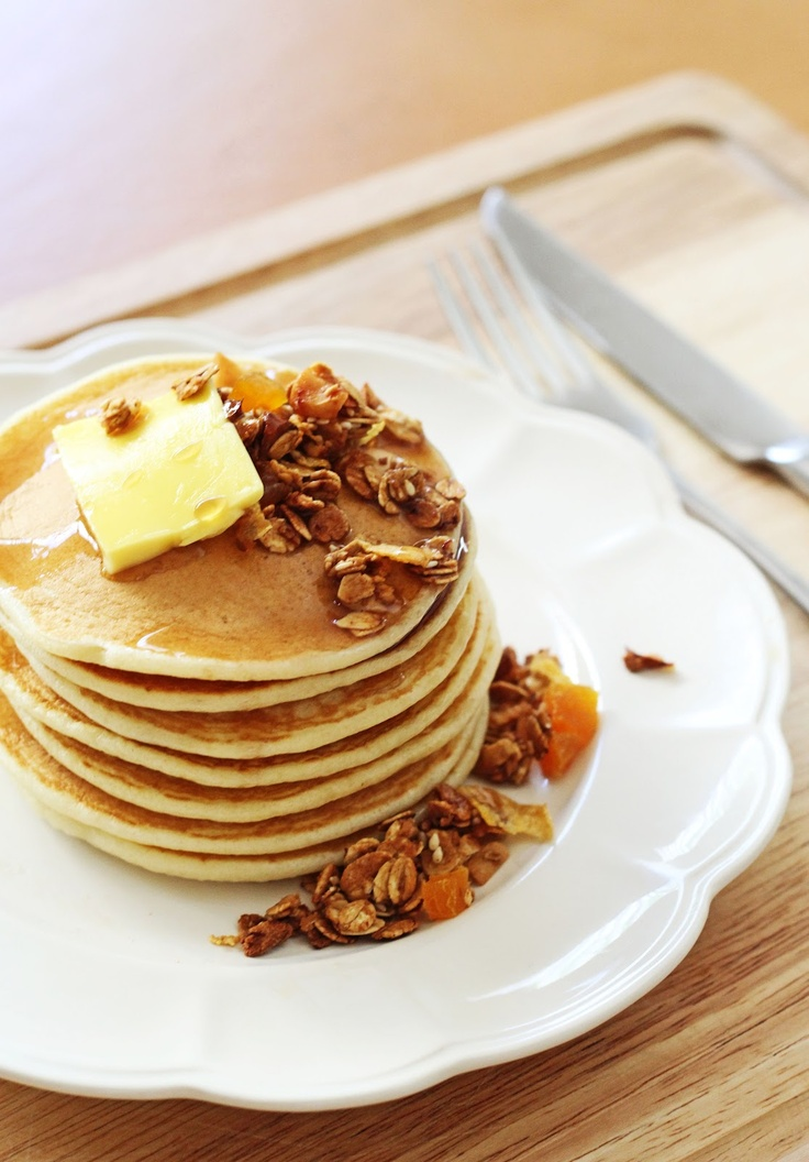 Fluffy Pancakes | Delicious food | Pinterest