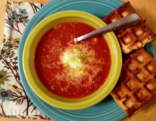 Spicy Roasted Tomato and Eggplant Soup | Soup Season | Pinterest