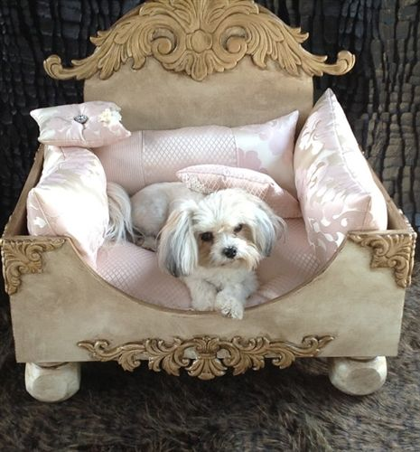 shabby chic dog bed shabby chic vintage roccoco