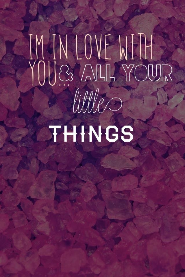 One Direction - Little Things | Inspired. | Pinterest