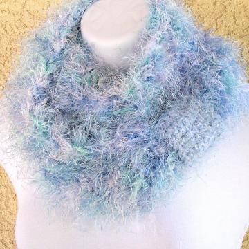 Ravelry: Magic Three-Yarn Scarf & Wrap pattern by