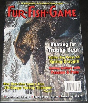 Fur fish and game magazine auto design tech for Fur fish and game