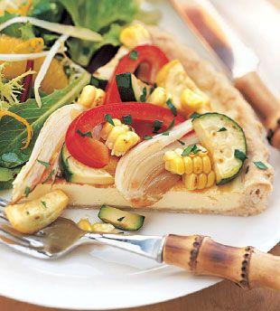 ... -time favorite recipes: Summer Vegetable Tart: Recipe: bonappetit.com