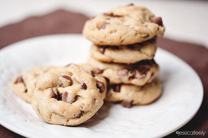 Chewy Gluten Free Chocolate Chip Cookies | Cosas ricas - Chocolate ...