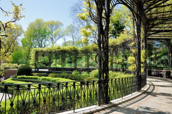 Central Park Conservatory Garden New York State Of Mind