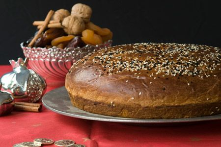 ... recipes vasilopita happy new year my first vasilopita elly says opa