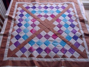 Raggedy Basketweave Quilt - Free Quilt Patterns, Baby