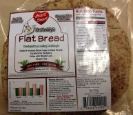 Dr. Reddy Bread Low Carb and Gluten Free Flat Bread