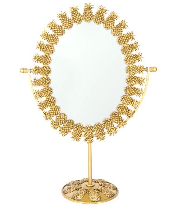 Vanity Must-Have: Pineapple Mirror
