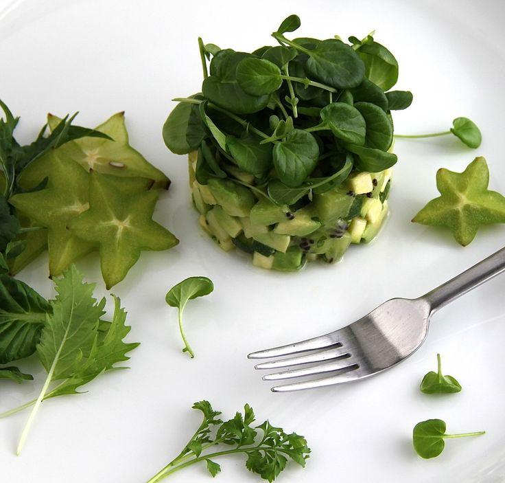Avocado And Watercress Salad Recipe — Dishmaps
