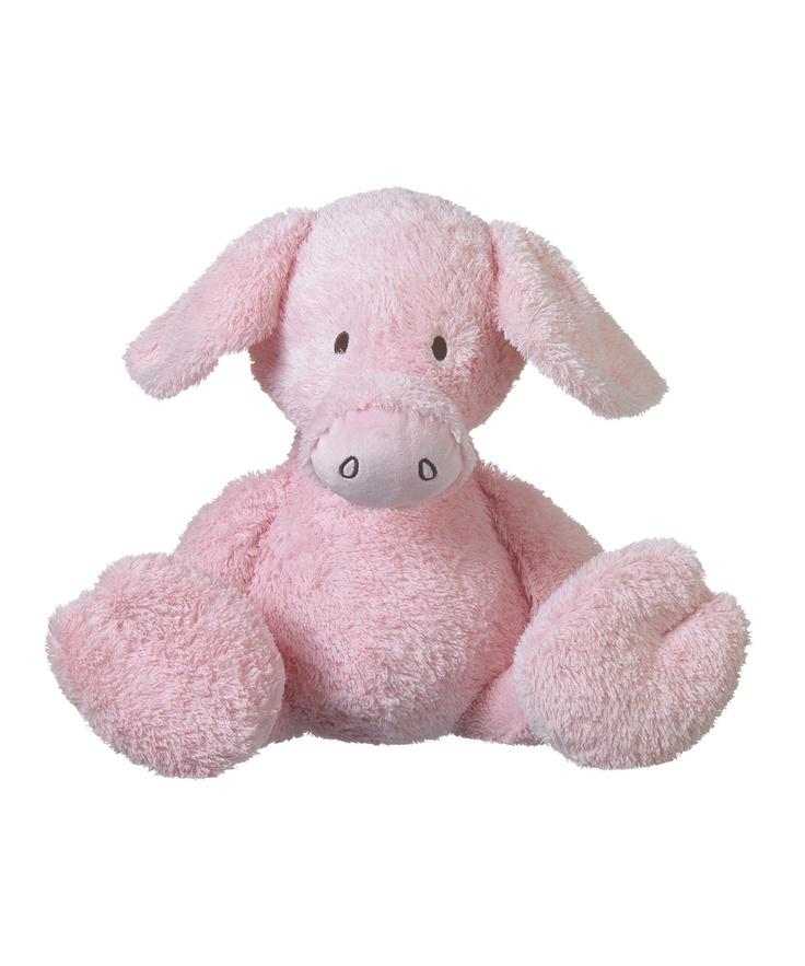 paris pig big animal farm plush toy. Black Bedroom Furniture Sets. Home Design Ideas