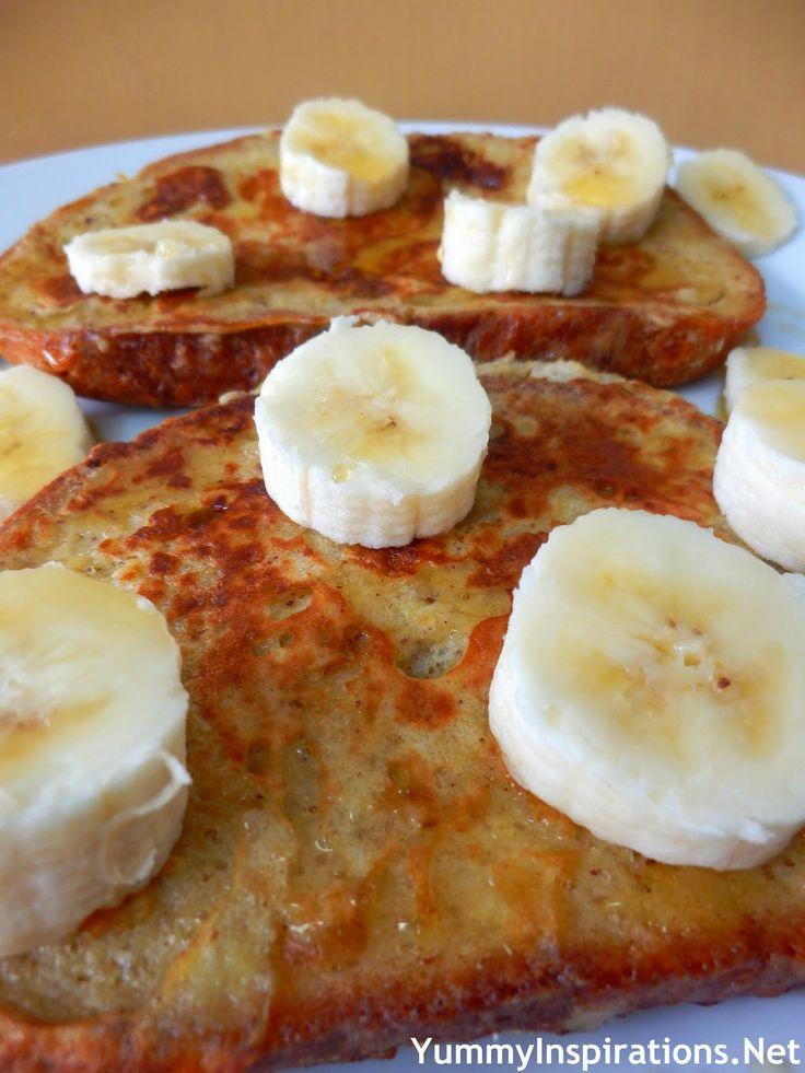 Banana Bread French Toast Recipe | Breakfast Recipes | Pinterest