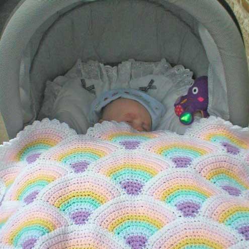 Free Knitting Patterns For Baby Pram Blankets : CROCHET PATTERNS FOR PRAM BLANKETS FREE CROCHET PATTERNS