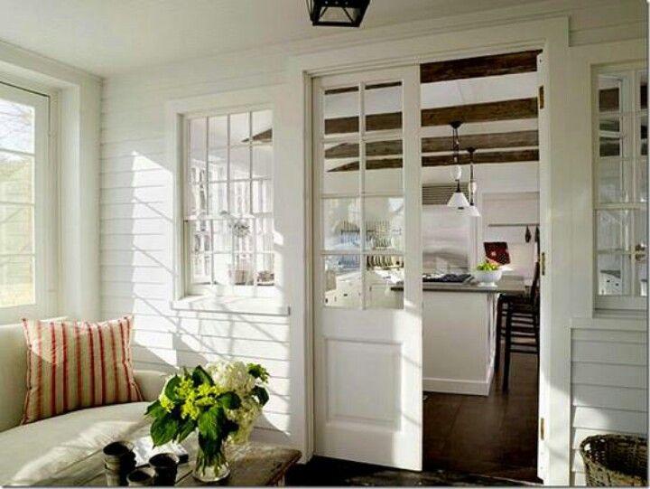 Enclosed Porch Off Of Kitchen Porches Pinterest