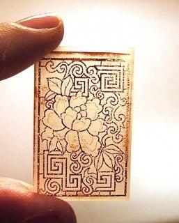 ... имитация гравюры в полимерной глине: pinterest.com/pin/106890191128747855