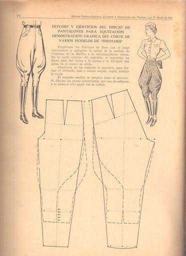 Выкройка брюк женских галифе: основные правила - ЭтноБохо