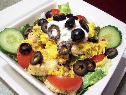 Low carb chicken fajita salad favorite recipes pinterest
