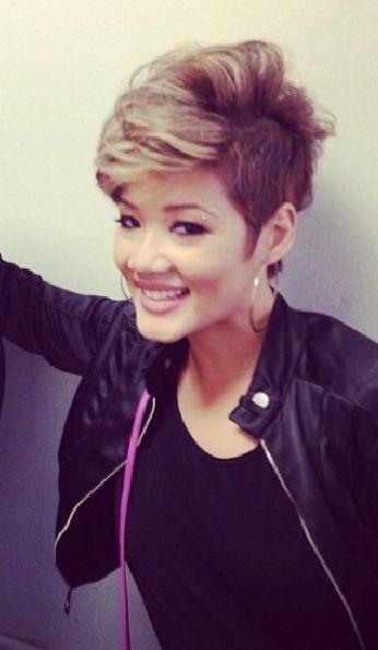 Tessanne Chin Hair Tessanne chin (the voice) short hair