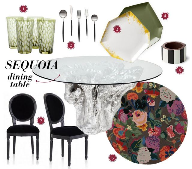 Make A Statement Sequoia Dining Table Meg Biram