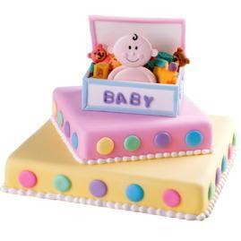 wilton baby shower cake
