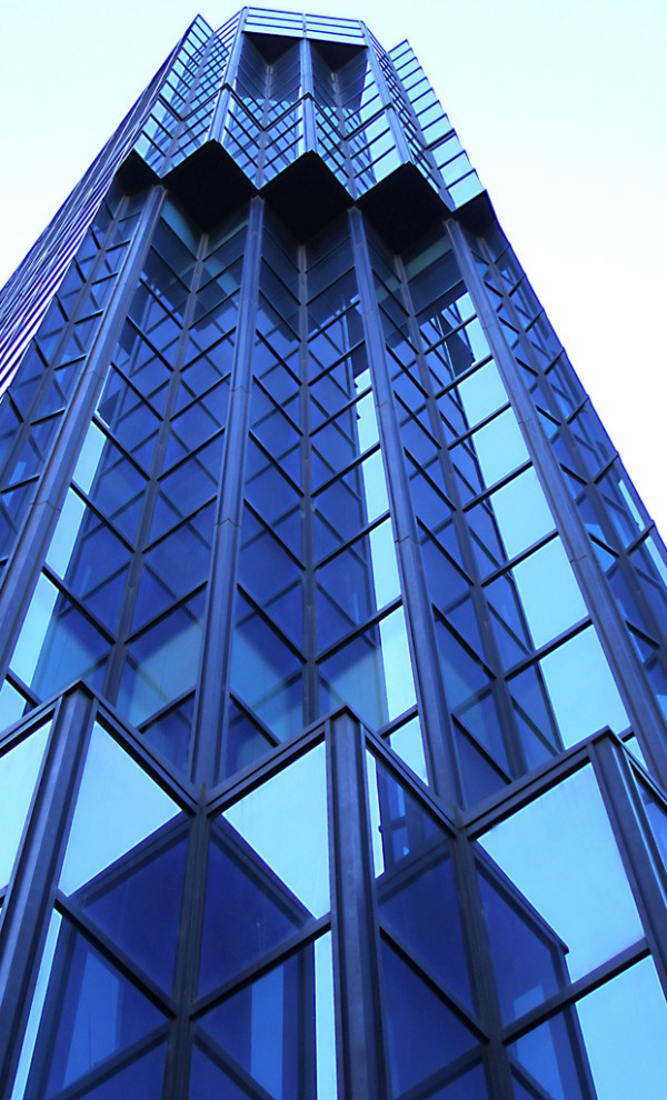 Geometric Blue Building Everything Blue Pinterest