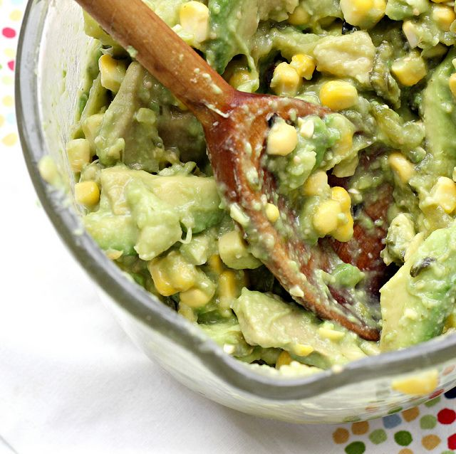 ... Eats Well With Others | Recipe: Grilled Corn and Poblano Guacamole
