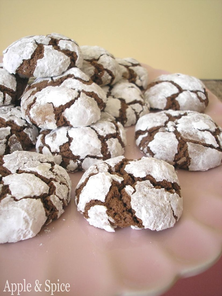 Ridiculously Simple Chocolate Crinkle Cookies Recipes — Dishmaps