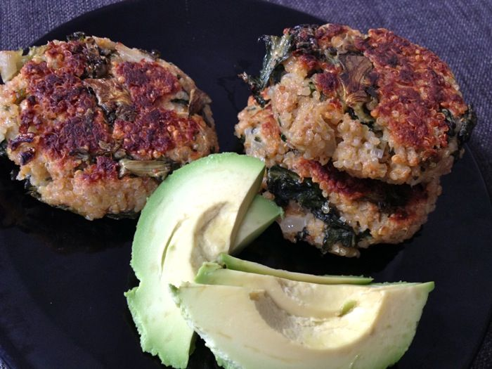Quinoa and Kale Cakes | Yum | Pinterest