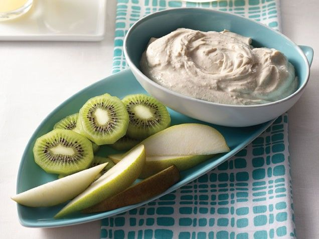 Pear Dunkers with Cashew-Cinnamon Yogurt Sauce. Healthy #snack for ...