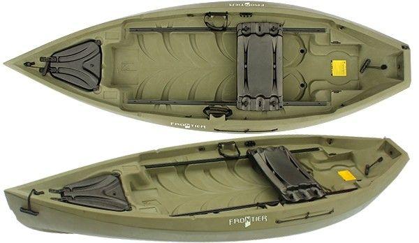Nucanoe frontier fishing kayak review fishing kayak for Most stable fishing kayak