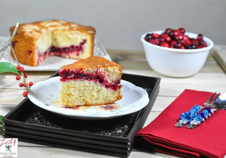Cranberry Vanilla Coffeecake | Recipe