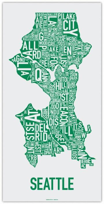 Seattle Neighborhoods  Seattle  Pinterest