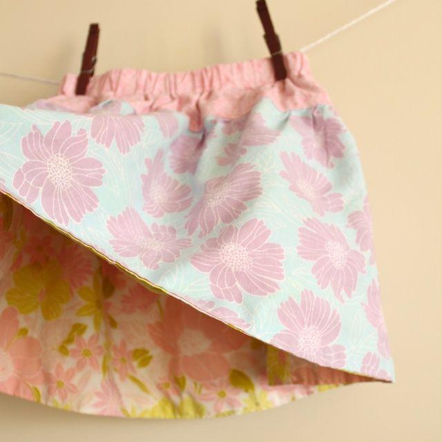 reversible skirt tutorial