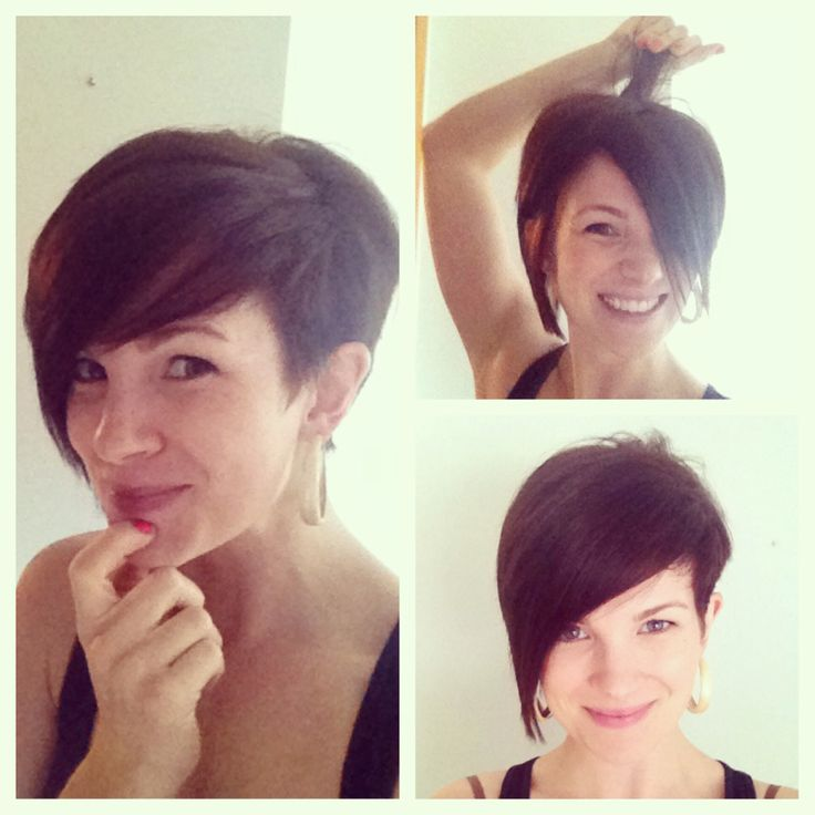 Asymmetrical Pixie Haircut Photo Dohoaso