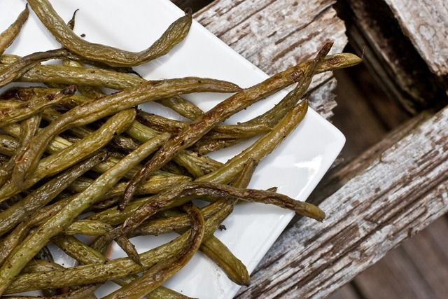 Easy Roasted Balsamic Green Beans | Food & Drink | Pinterest